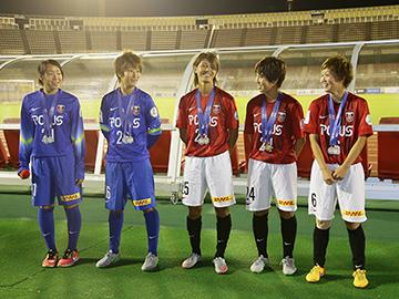 『AFC-U-19女子選手権中国2015』優勝報告会