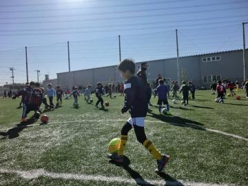 浦和レッズレディースサッカー教室に柴田と猶本