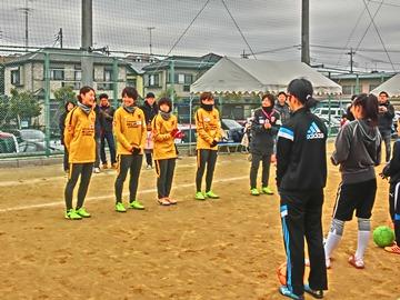 「URAWAスポーツパークJVサッカー教室」に佐々木、加