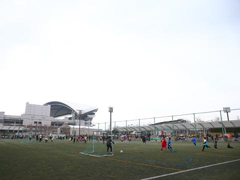 『第22回-交流サッカーフェスティバル』に、植村