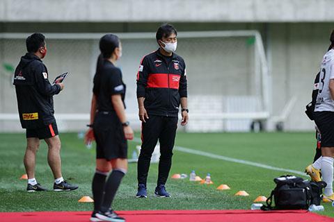 WEリーグプレシーズンマッチ-INAC神戸レオネッサ戦-試-2