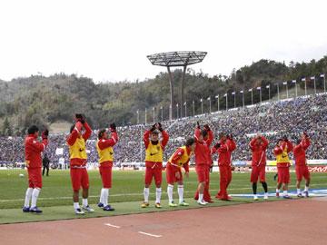 J.League 1st sec. vs Sanfrecce Hiroshima