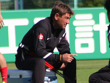 We have prepared ourselves well for the match against Vegalta Sendai-Team Manager Mischa