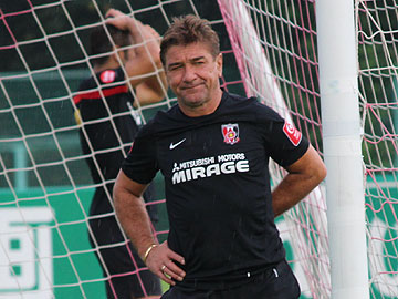 We will pursue victory and out do our opponent with our stamina – Team Manager Mischa