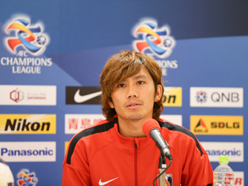 Team Manager Mischa and Kashiwagi attend official pre-match press conference