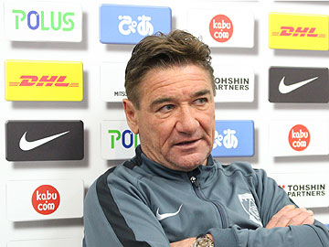 Team Manager Mischa – pre-match press conference the day before the match against Shonan Bellmare