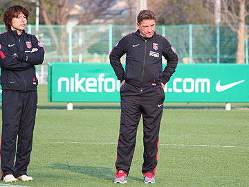 Team Manager Mischa – press conference the day before the match against Montedio Yamagata
