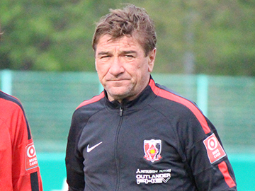 Team Manager Mischa – press conference the day before the match against Nagoya Grampus