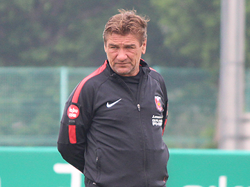 Team Manager Mischa – press conference the day before the match against Vegalta Sendai