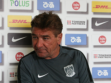 Team Manager Mischa – press conference the day before the match against Kashiwa Reysol