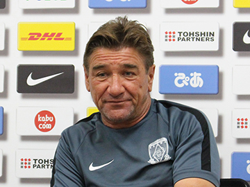 Team Manager Mischa – press conference the day before the match against Ventforet Kofu