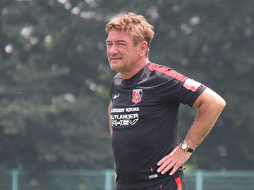 Team Manager Mischa – press conference the day before the match against Matsumoto Yamaga F.C.