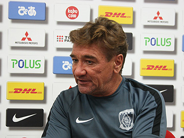 Team Manager Mischa – press conference the day before the match against Shonan Bellmare
