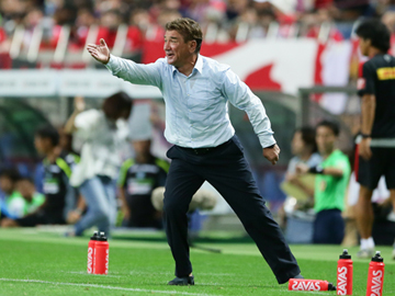 Team Manager Mischa – press conference after the match against Shonan Bellmare