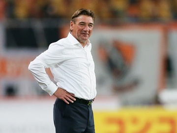 Team Manager Mischa – press conference after the match against Shimizu S-Pulse