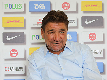 Team Manager Mischa – press conference the day before the match against Shimizu S-Pulse