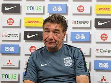 Team Manager Mischa – press conference the day before the match against Sagan Tosu