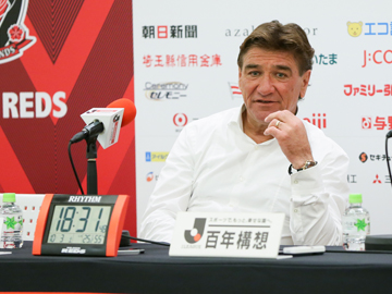 Team Manager Mischa – press conference after the match against Sagan Tosu