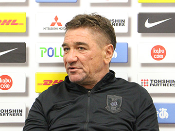 Team Manager Mischa – press conference the day before the match against Kawasaki Frontale