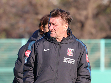 Team Manager Mischa – press conference the day before the match against Gamba Osaka