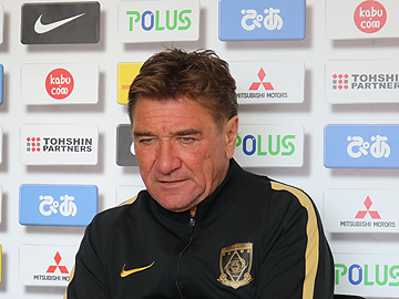 Team Manager Mischa – pre-match press conference the day before the match against Kashiwa Reysol