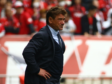 Team Manager Mischa – press conference after the match against Jubilo Iwata