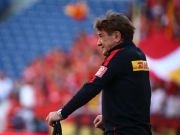 Team Manager Mischa – press conference after the match against Nagoya Grampus