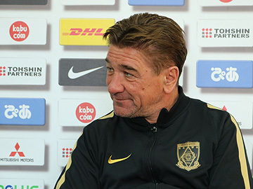 Team Manager Mischa – pre-match press conference the day before the match against Ventforet Kofu