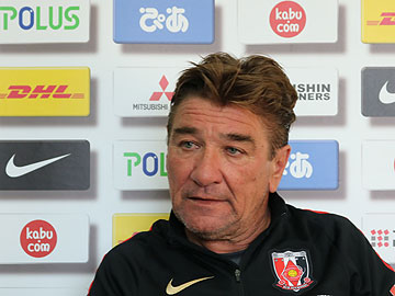 Team Manager Mischa – pre-match press conference the day before the match against Omiya Ardija