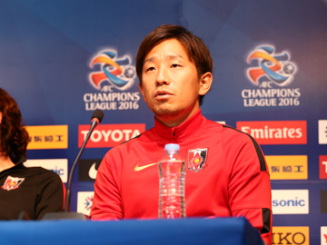 Team Manager Mischa and Player Ugajin attend official interview session before the match against FC Seoul