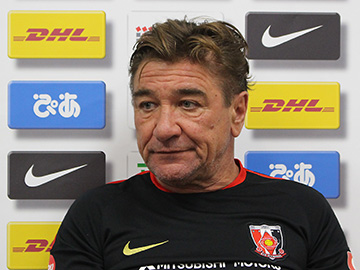 Team Manager Mischa – pre-match press conference the day before the match against FC Tokyo