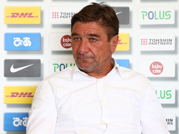 Team Manager Mischa – pre-match press conference the day before the match against Avispa Fukuoka