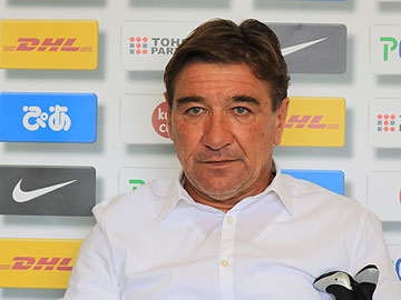 Team Manager Mischa – pre-match press conference the day before the match against Vegalta Sendai