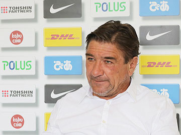 Team Manager Mischa – pre-match press conference the day before the match against Nagoya Grampus