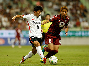 J.LEAGUE YBC Levain CUP Quarter-Finals 1stLeg vs Vissel Kobe (Result)
