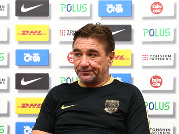Team Manager Mischa – pre-match press conference the day before the match against Sanfrecce Hiroshima
