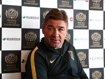 Team Manager Mischa – pre-match press conference the day before the match against Kashima Antlers