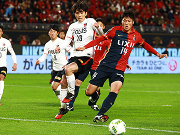 MEIJI YASUDA 2016 J.LEAGUE CHAMPIONSHIP Final 1st Leg vs Kashima Antlers (Result)