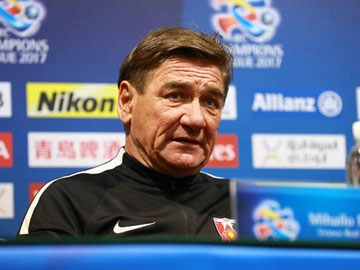 Team Manager Mischa – press conference after the match against Shanghai SIPG F.C.