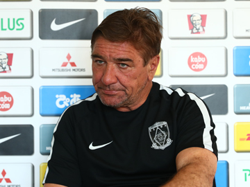 Team Manager Mischa – pre-match press conference the day before the match against Shimizu S-Pulse