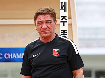 Team Manager Mischa – press conference after the match against Jeju United FC