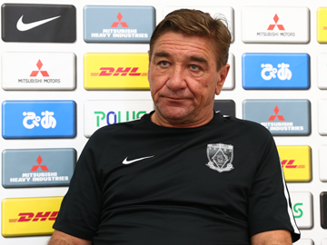 Team Manager Mischa – press conference the day before the Emperor's Cup match against Grulla Morioka