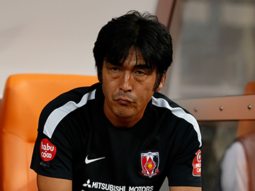 Team Manager Hori – press conference after the match against Shimizu S-Pulse