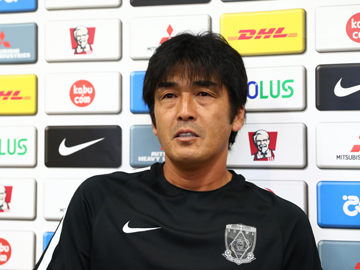 Team Manager Hori – pre-match press conference the day before the match against Omiya Ardija