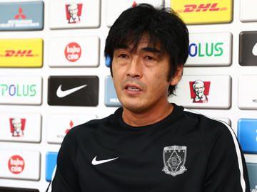 Team Manager Hori – pre-match press conference the day before the match against FC Tokyo