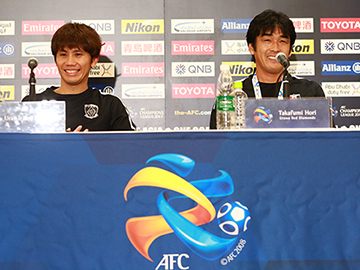 Press conference after the match against Kawasaki Frontale