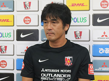 Team Manager Hori – pre-match press conference the day before the match against Kashiwa Reysol