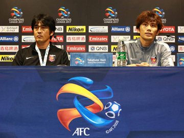 Press conference after the match against Shanghai SIPG F.C.