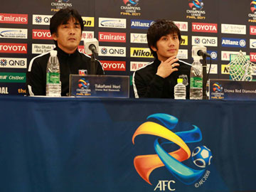 Press conference after the match against Al-Hilal FC