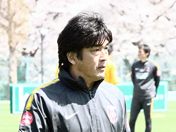 Team Manager Hori – pre-match press conference the day before the match against Jubilo Iwata